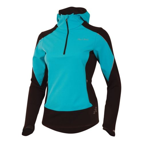 Womens Pearl Izumi Infinity Windblocking Hoody Long Sleeve 1/2 Zip Technical Tops - Scuba ...