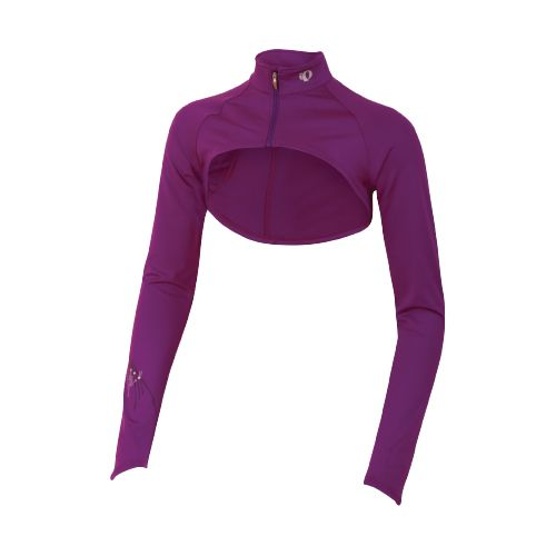 Womens Pearl Izumi Infinity Shrug Long Sleeve Full Zip Technical Tops - Orchid M