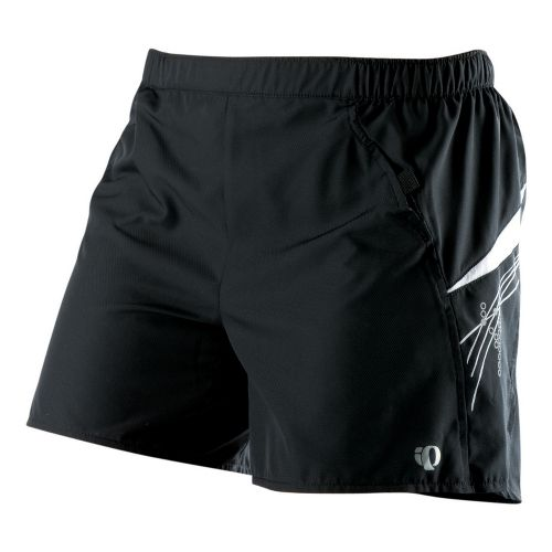 Womens Pearl Izumi Infinity LD Short Lined Shorts - Black/White S