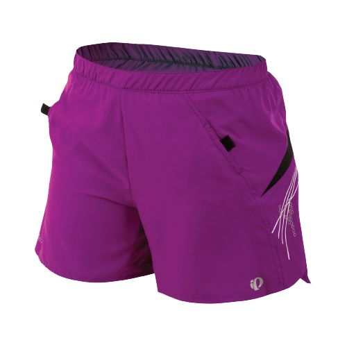 Womens Pearl Izumi Infinity LD Short Lined Shorts - Orchid/Black L