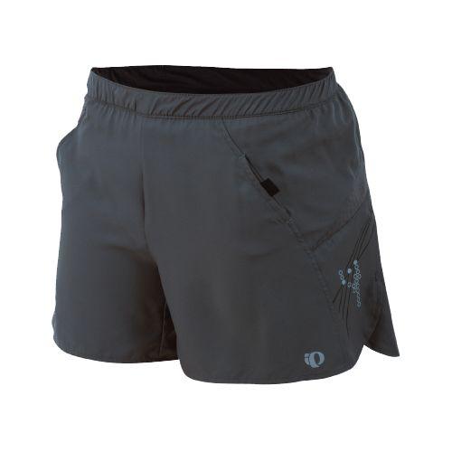 Womens Pearl Izumi Infinity LD Short Lined Shorts - Shadow Grey L
