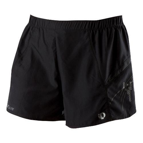 Womens Pearl Izumi Infinity Short Lined Shorts - Black/Black M