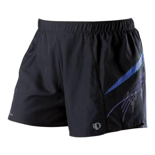 Womens Pearl Izumi Infinity Short Lined Shorts - Black/Dahlia XL