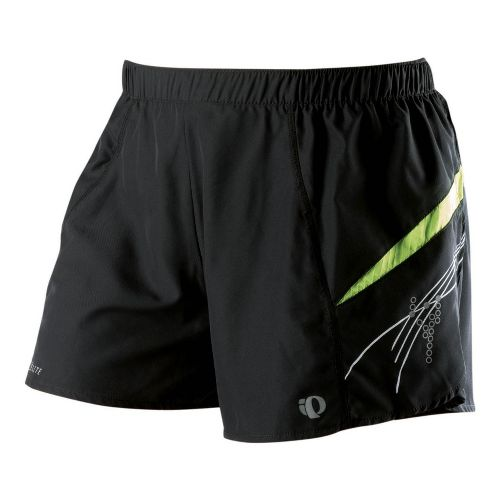 Womens Pearl Izumi Infinity Short Lined Shorts - Black/Lime XS