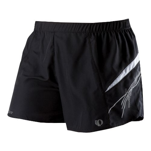 Womens Pearl Izumi Infinity Short Lined Shorts - Black/White L