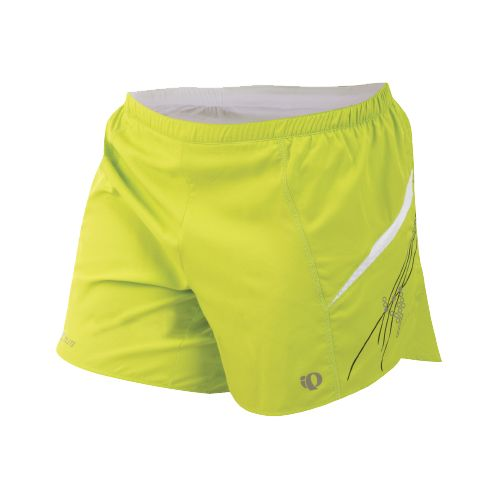 Womens Pearl Izumi Infinity Short Lined Shorts - Lime/Black S