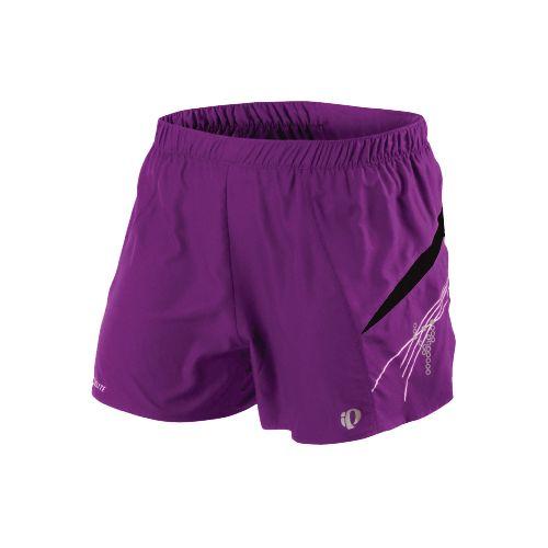 Womens Pearl Izumi Infinity Short Lined Shorts - Orchid/Black XS
