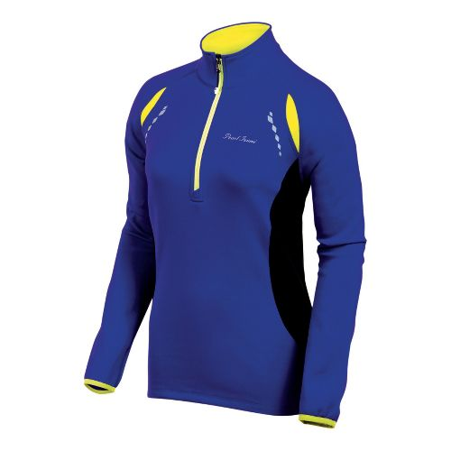 Womens Pearl Izumi Aurora Thermal Top Long Sleeve 1/2 Zip Technical Tops - Dahlia/Purple XS ...