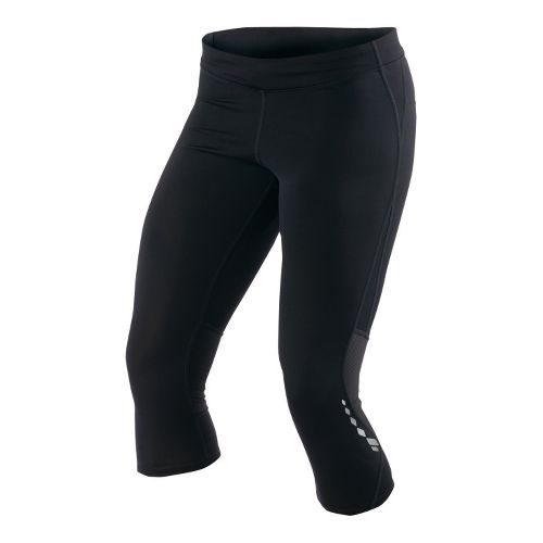 Womens Pearl Izumi Aurora Splice Knicker Fitted Tights - Black XS