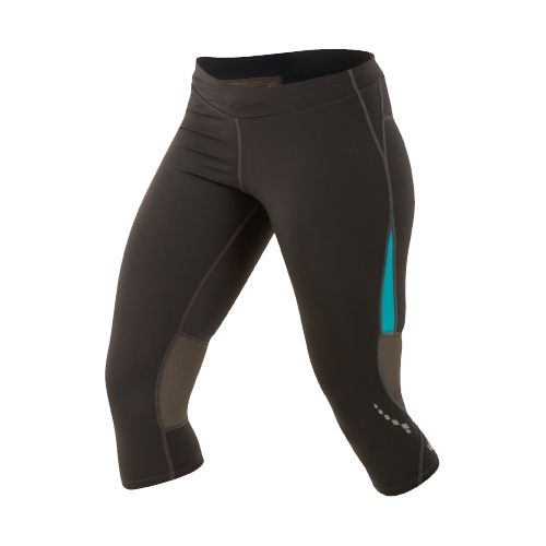 Womens Pearl Izumi Aurora Splice Knicker Fitted Tights - Shadow Grey/Scuba Blue XXL