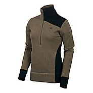 Womens Pearl Izumi Beakay Jersey Long Sleeve 1/2 Zip Technical Tops