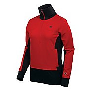 Womens Pearl Izumi Bellinger Jersey Long Sleeve 1/2 Zip Technical Tops