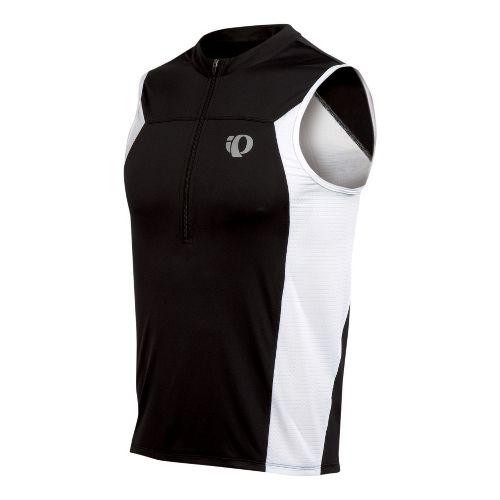 Mens Pearl Izumi SELECT Tri SL Jersey Sleeveless Technical Tops - Black M