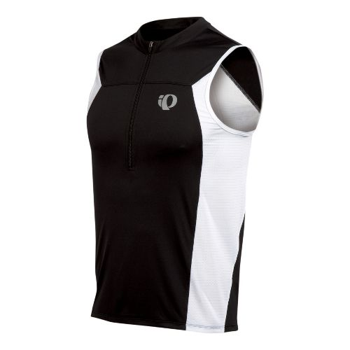 Mens Pearl Izumi SELECT Tri SL Jersey Sleeveless Technical Tops - Black S