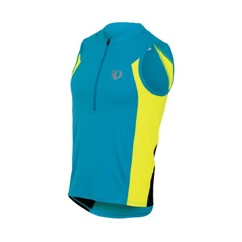 Mens Pearl Izumi SELECT Tri SL Jersey Sleeveless Technical Tops - Electric Blue XL