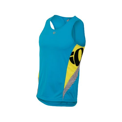 Mens Pearl Izumi Fly In-R-Cool Singlet Technical Tops - Electric Blue L