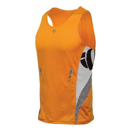 Mens Pearl Izumi Fly In-R-Cool Singlet Technical Tops - Safety Orange XXL