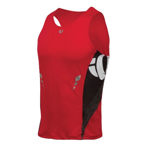 Mens Pearl Izumi Fly In-R-Cool Singlet Technical Tops - True Red L