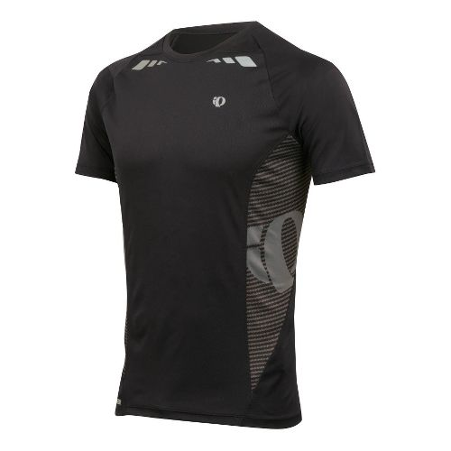 Mens Pearl Izumi Fly In-R-Cool Short Sleeve Technical Tops - Black L