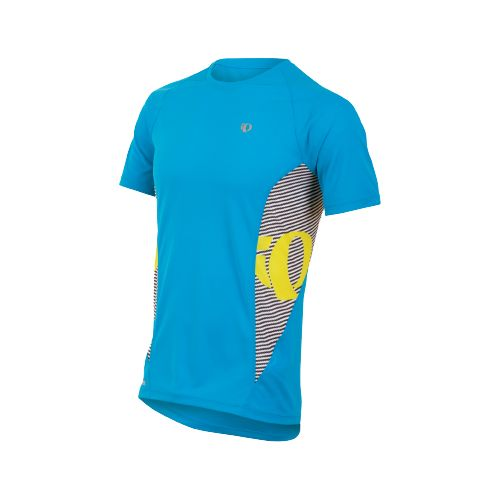 Mens Pearl Izumi Fly In-R-Cool Short Sleeve Technical Tops - Electric Blue S