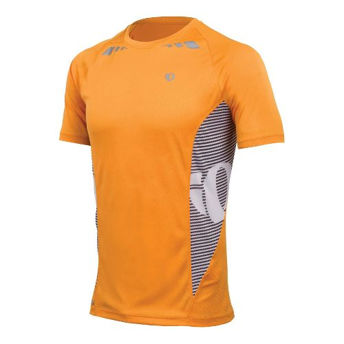 Mens Pearl Izumi Fly In-R-Cool Short Sleeve Technical Tops - Safety Orange XL