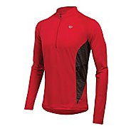 Mens Pearl Izumi Fly In-R-Cool Long Sleeve 1/2 Zip Technical Tops