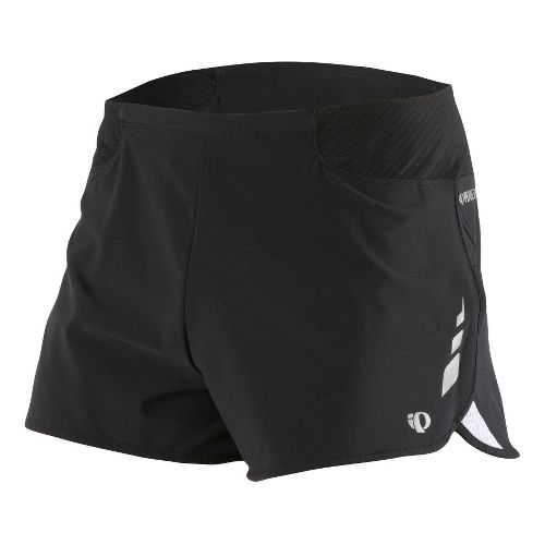 Mens Pearl Izumi Fly Split Short Splits Shorts - Black XL
