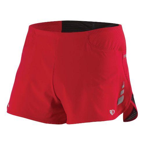 Mens Pearl Izumi Fly Split Short Splits Shorts - True Red M