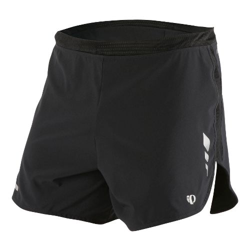 Mens Pearl Izumi Fly Short Splits Shorts - Black XXL