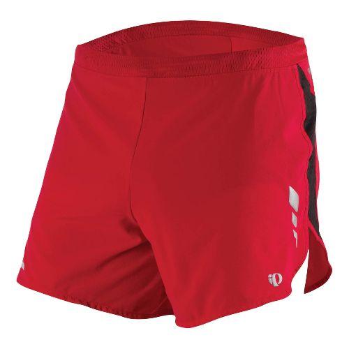 Mens Pearl Izumi Fly Short Splits Shorts - True Red XL