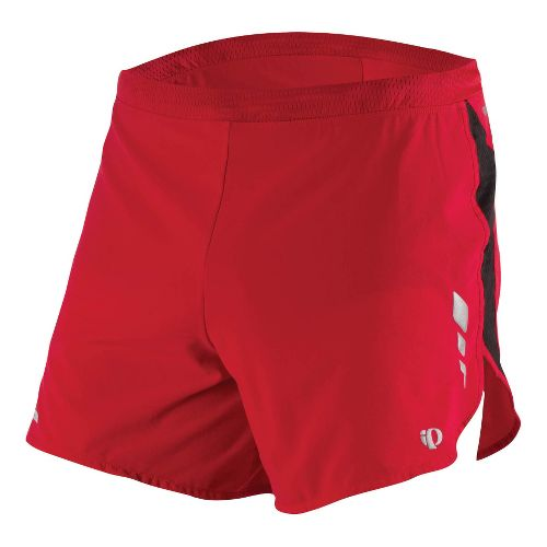 Mens Pearl Izumi Fly Short Splits Shorts - True Red XXL