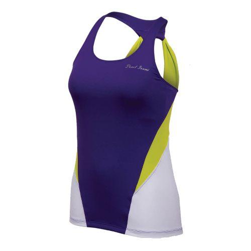 Womens Pearl Izumi Infinity Sport Tank Sport Top Bras - Dahlia/White S