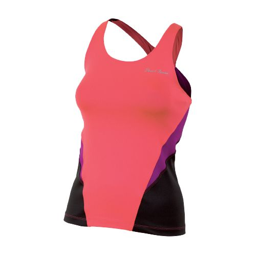 Womens Pearl Izumi Infinity Sport Tank Sport Top Bras - Paradise Pink/Orchid S