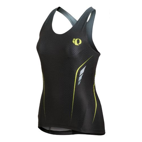 Womens Pearl Izumi Pro In-R-Cool Tri Singlet Sport Top Bras - Black XS