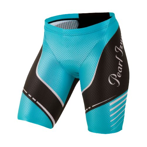 Womens Pearl Izumi Pro In-R-Cool Tri Short Fitted Shorts - Scuba Blue M