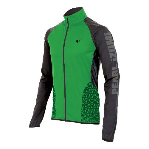 Mens Pearl Izumi Ultra Jacket Running - Fairway/Print XL