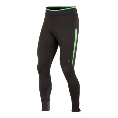 Mens Pearl Izumi Ultra Tight Fitted Tights - Black/Fairway L