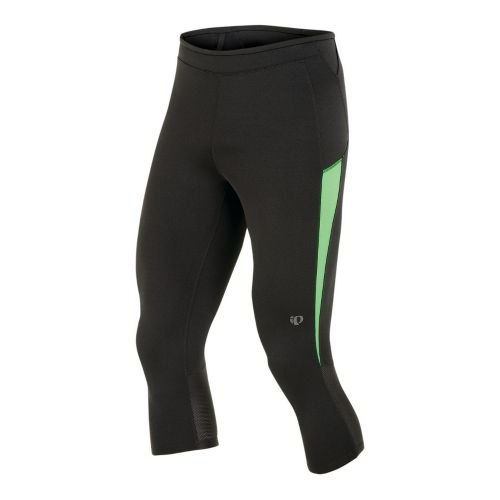 Mens Pearl Izumi Ultra 3/4 Tight Capri Tights - Black/Fairway L
