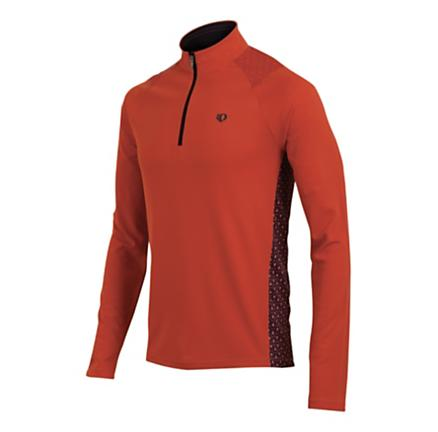 Mens Pearl Izumi Ultra Long Sleeve Long Sleeve 1/2 Zip Technical Tops