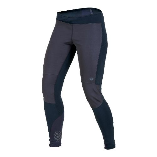 Womens Pearl Izumi Ultra Windblocking Tight Fitted Tights - Black XS
