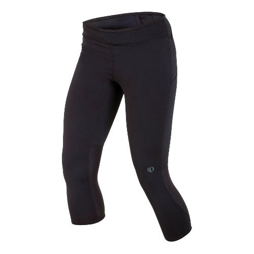 Womens Pearl Izumi Ultra 3/4 Tight Capri Tights - Black M