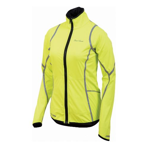 Womens Pearl Izumi Fly Reverse Jacket Running - Screaming Yellow S