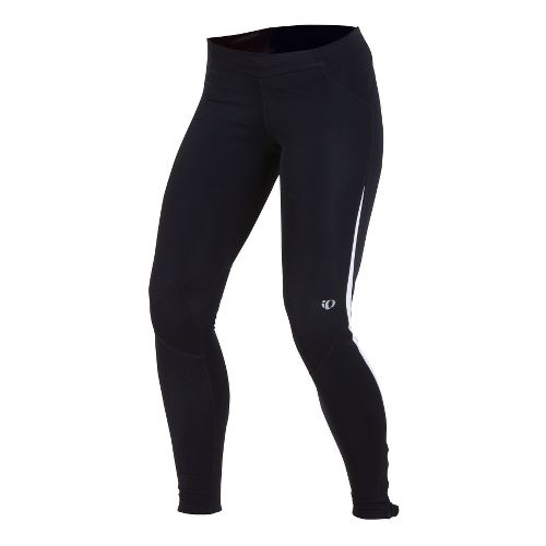 Womens Pearl Izumi Infinity Thermal Tight Fitted Tights - Black/White L
