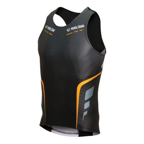 Mens Pearl Izumi P.R.O. In-R-Cool Tri Singlet Technical Tops - Black M