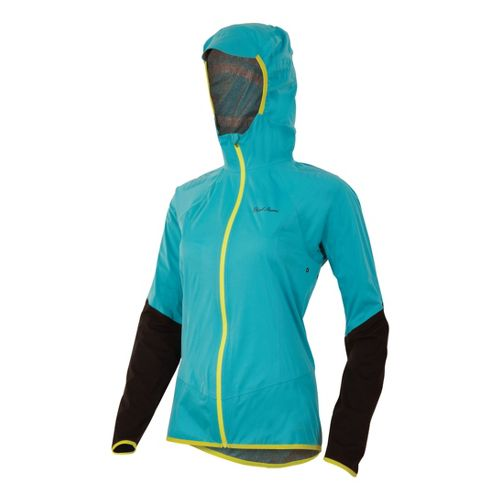 Womens Pearl Izumi Ultra Barrier WxB Running Jackets - Scuba Blue XL