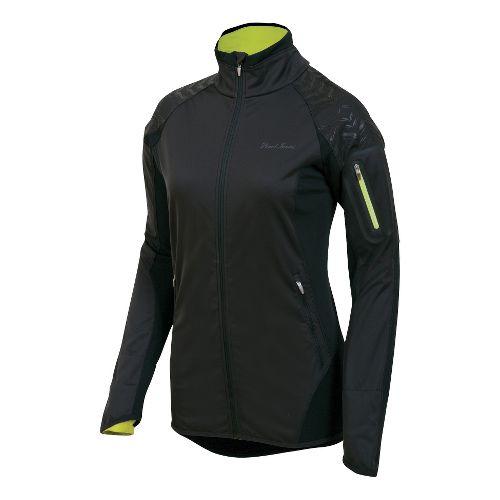 Womens Pearl Izumi Ultra Windblocking Running Jackets - Black XL