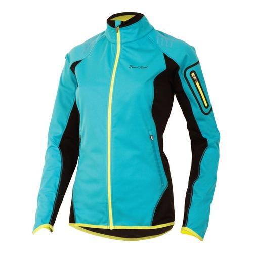 Womens Pearl Izumi Ultra Windblocking Running Jackets - Scuba Blue XS