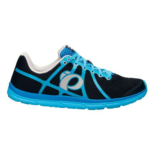 Mens Pearl Izumi EM Road N 1 Running Shoe - Black/Blue Atoll 9