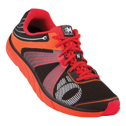 Mens Pearl Izumi EM Road N 1 Running Shoe - Black/Red 7.5