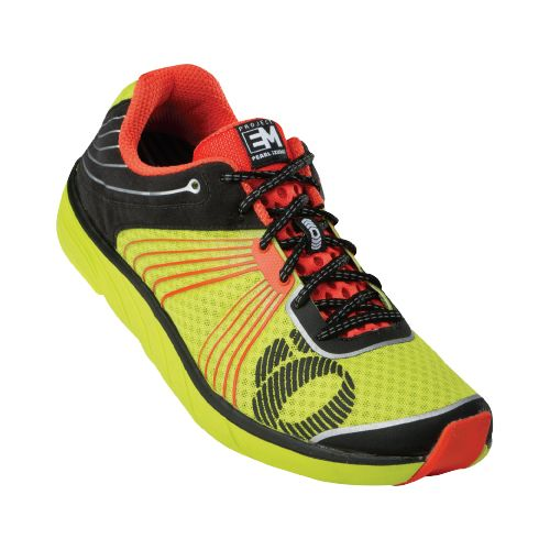 Mens Pearl Izumi EM Road N 1 Running Shoe - Lime/Black 10.5